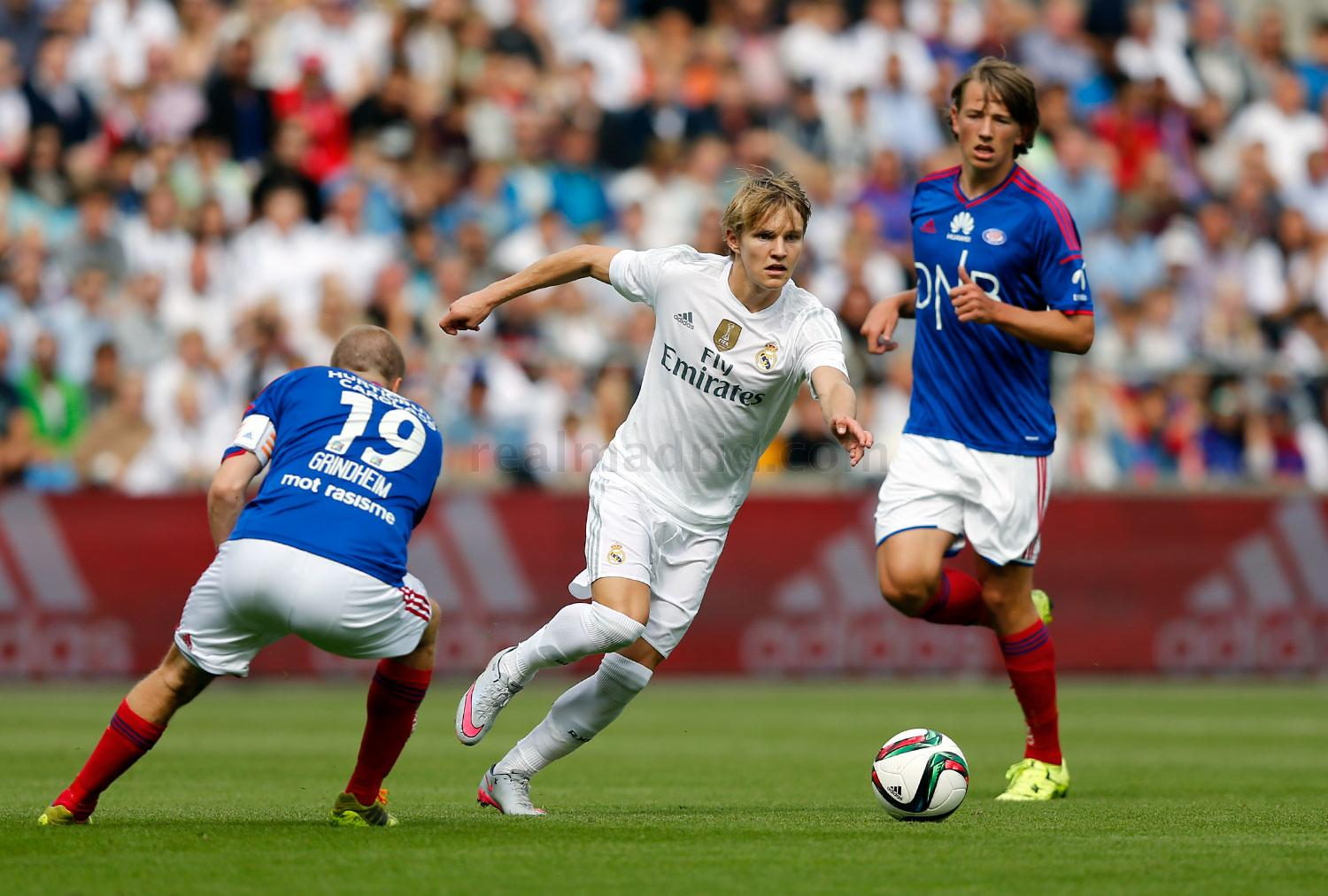 Real Madrid - Valerenga - Real Madrid - 09-08-2015