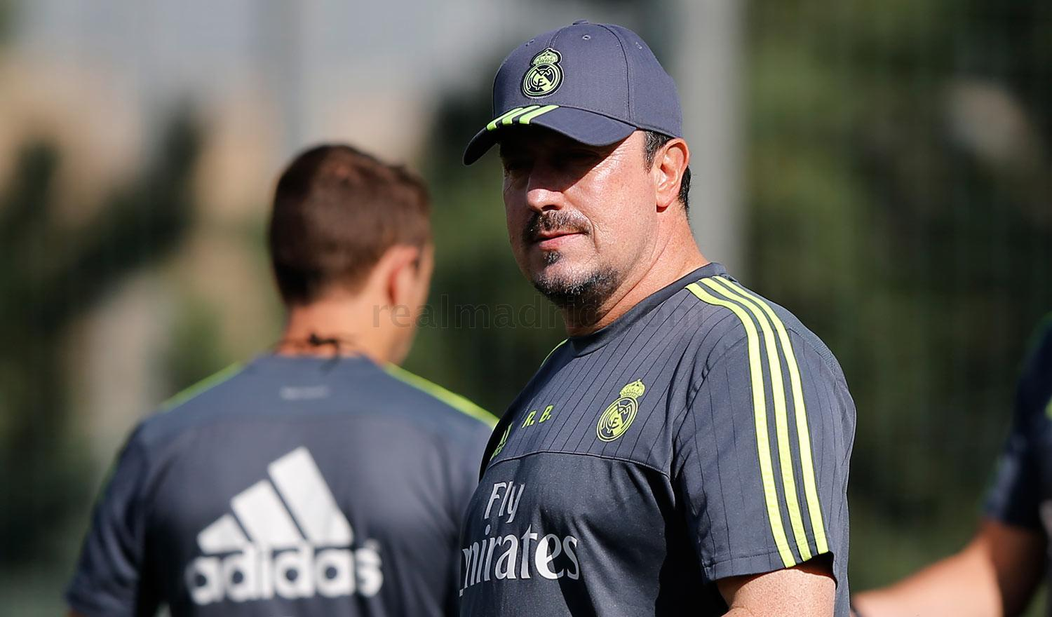 Real Madrid - Entrenamiento del Real Madrid - 12-08-2015