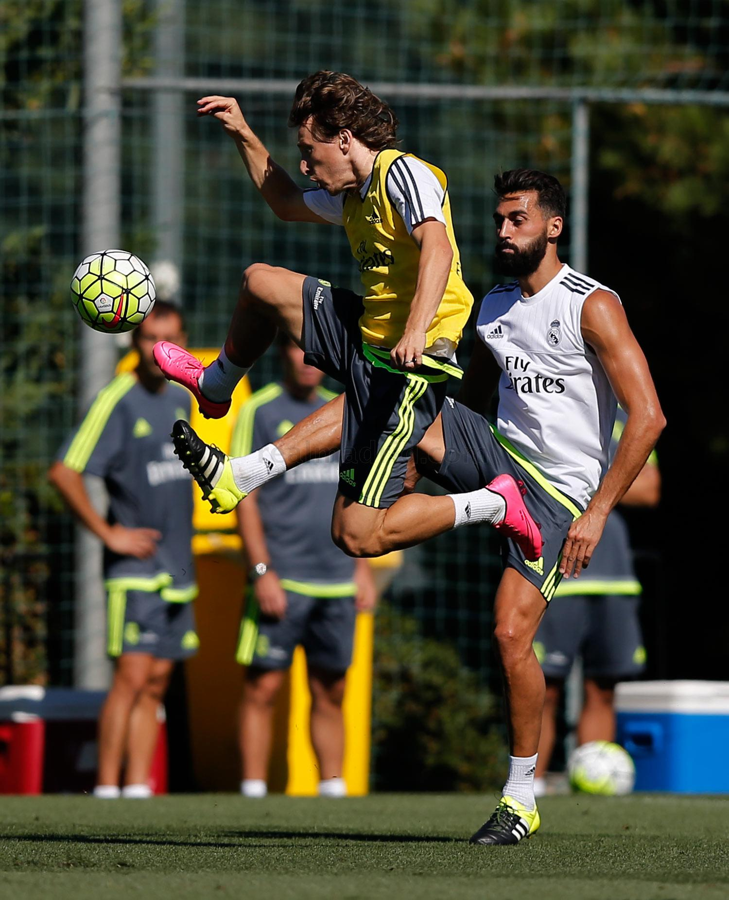 Real Madrid - Entrenamiento del Real Madrid - 13-08-2015