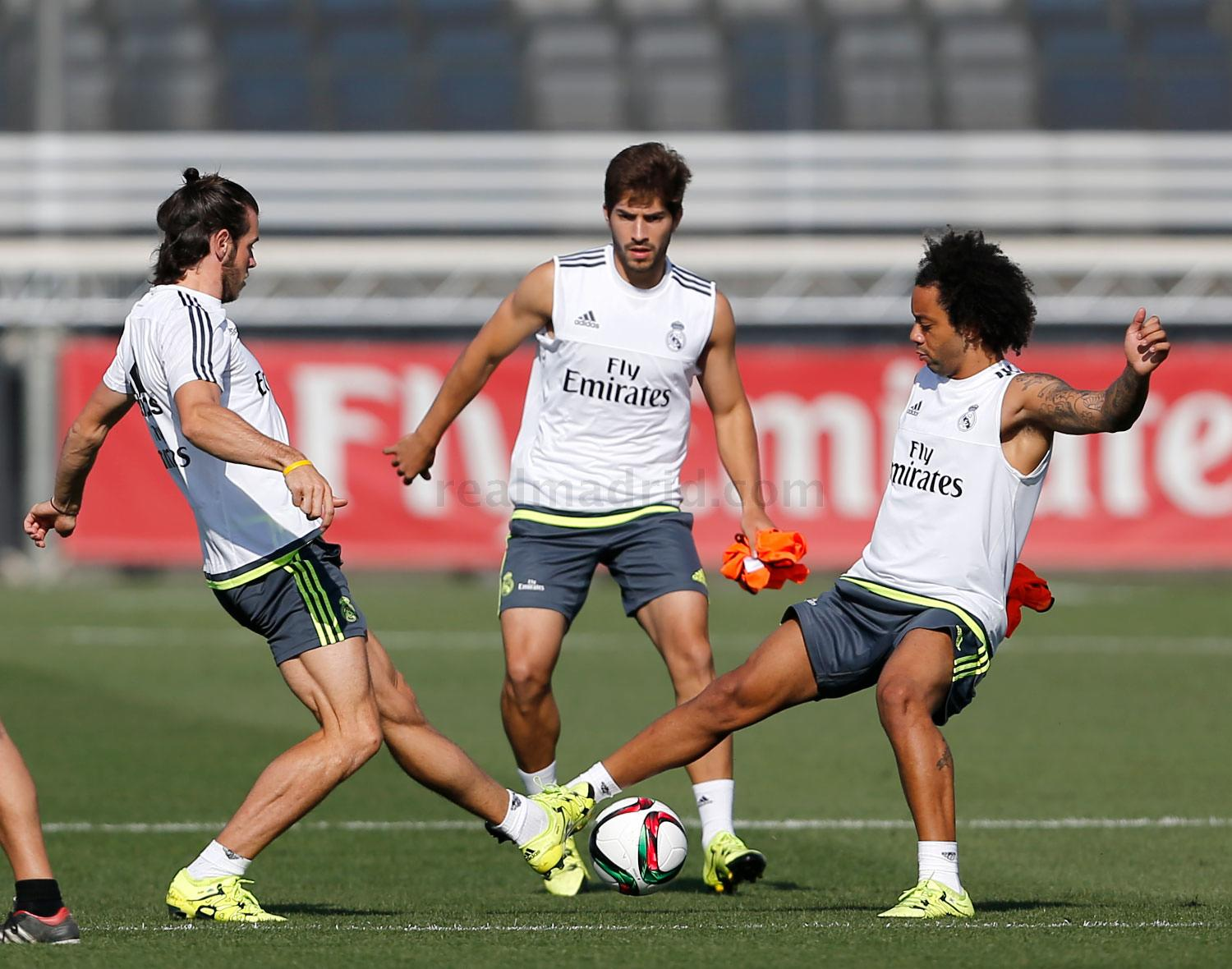 Real Madrid - Entrenamiento del Real Madrid - 17-08-2015