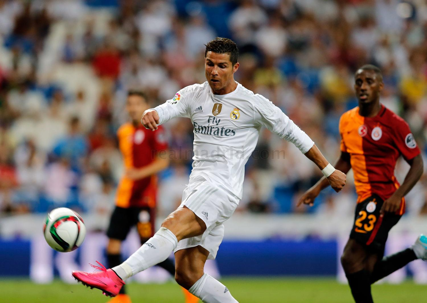 Real Madrid - Real Madrid - Galatasaray - 19-08-2015