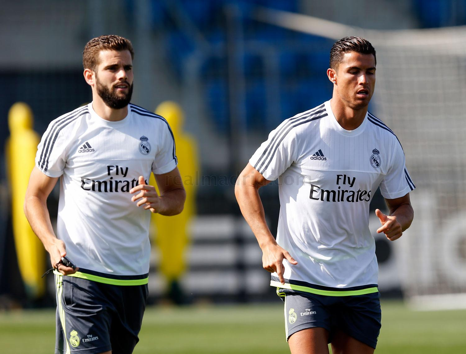 Real Madrid - Entrenamiento del Real Madrid - 19-08-2015