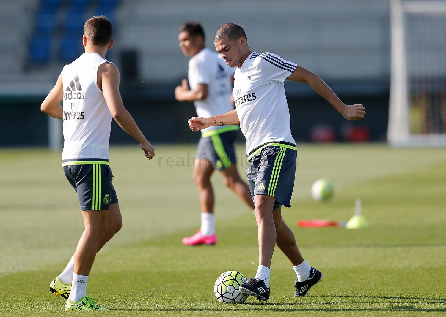 Real Madrid - Entrenamiento del Real Madrid - 20-08-2015