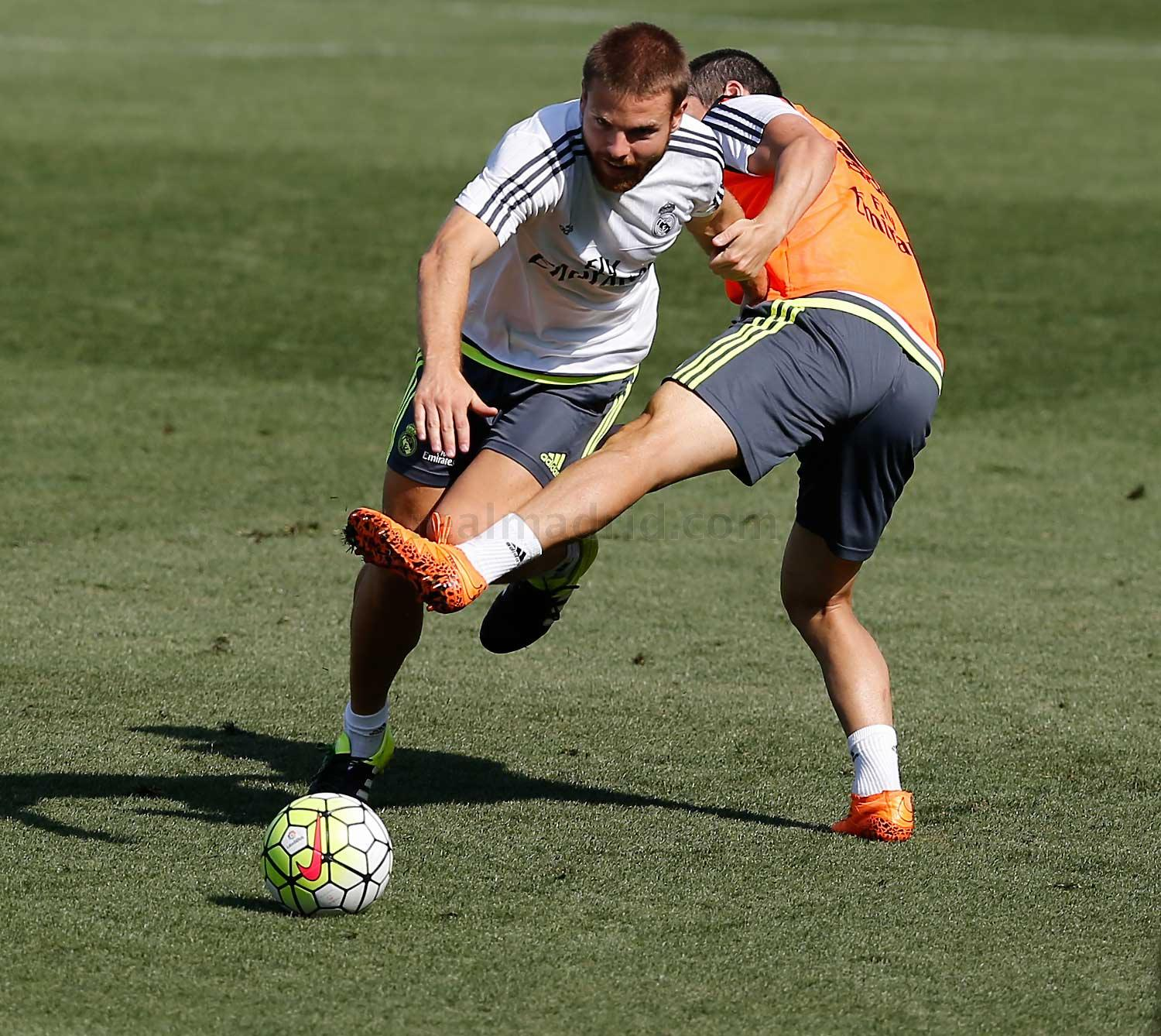 Real Madrid - Entrenamiento del Real Madrid - 21-08-2015
