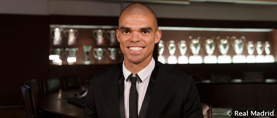 """Pepe: """"Real Madrid have given me everything, I feel privileged"""""""