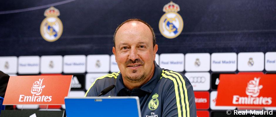 """Benitez: """"To challenge for the title, we have to get off to a good start against Sporting"""""""