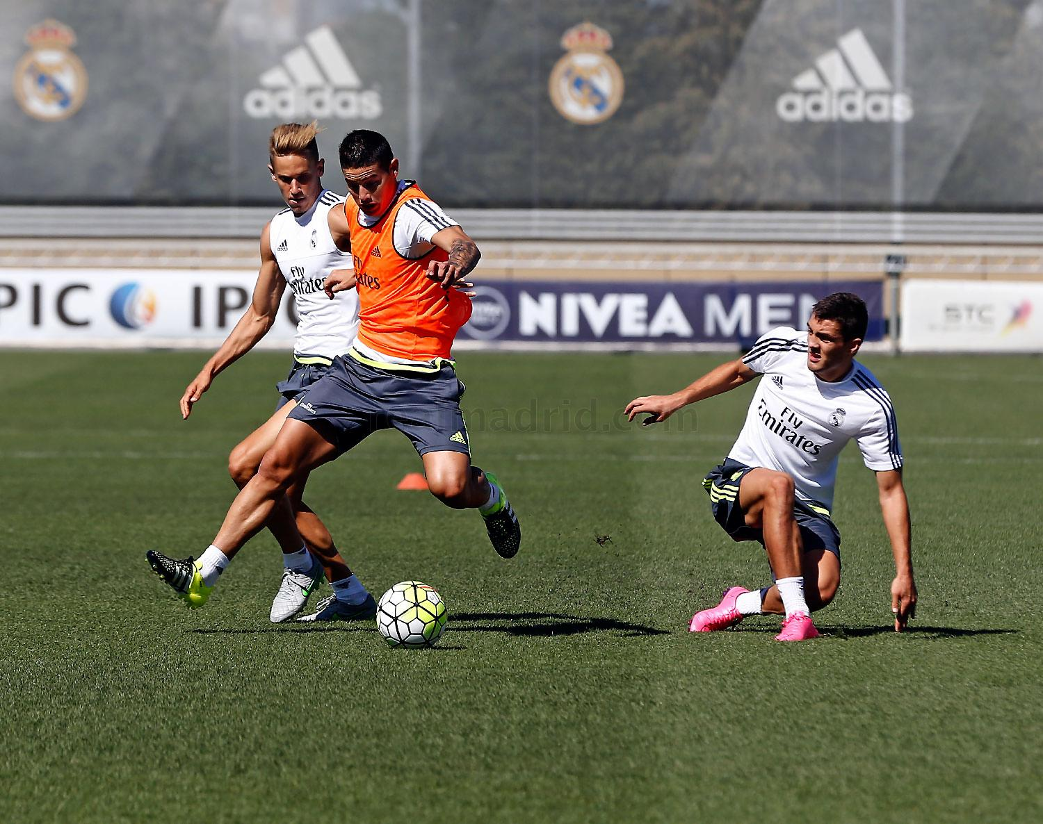 Real Madrid - Entrenamiento del Real Madrid - 24-08-2015