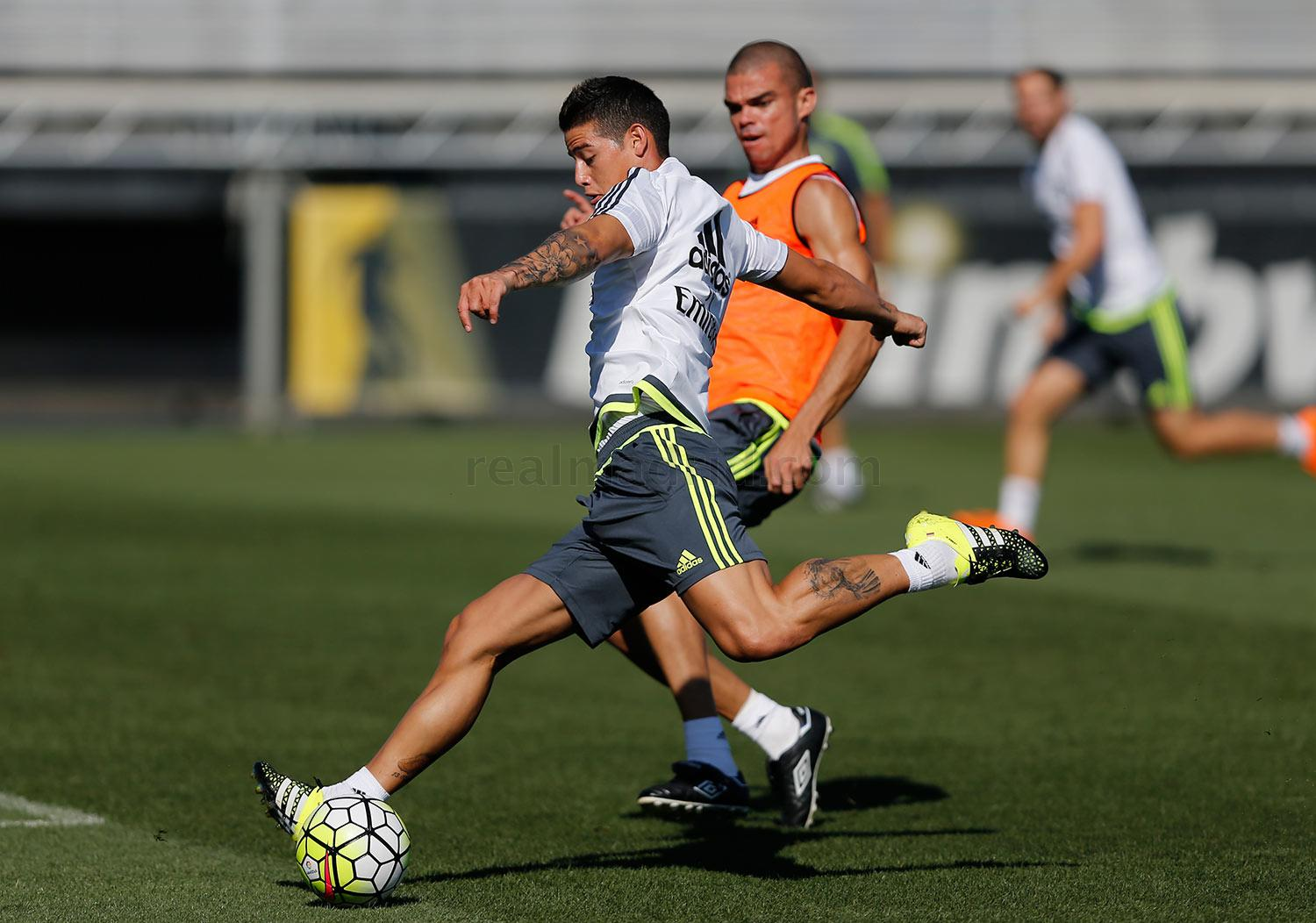 Real Madrid - Entrenamiento del Real Madrid - 26-08-2015