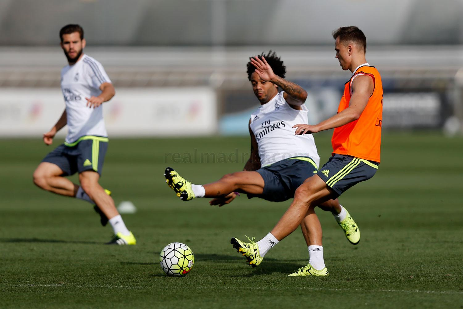 Real Madrid - Entrenamiento del Real Madrid - 27-08-2015