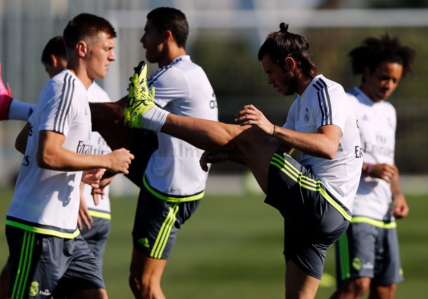 Real Madrid - Entrenamiento del Real Madrid - 28-08-2015