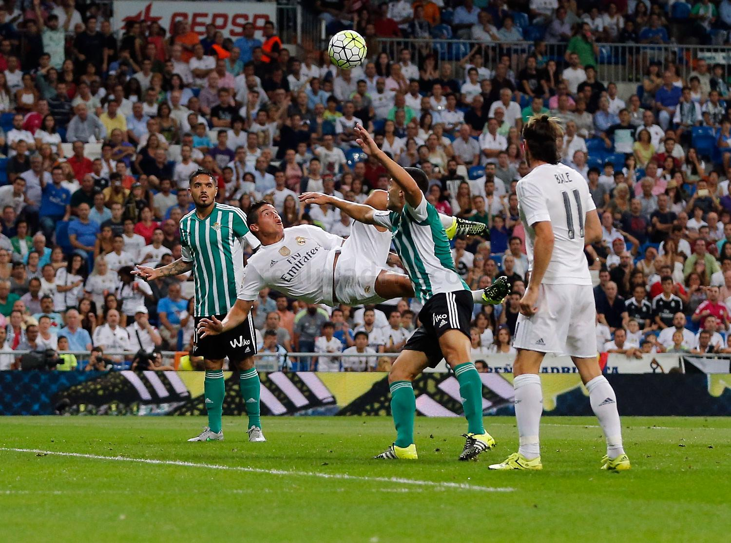 Real Madrid - Real Madrid - Real Betis - 29-08-2015