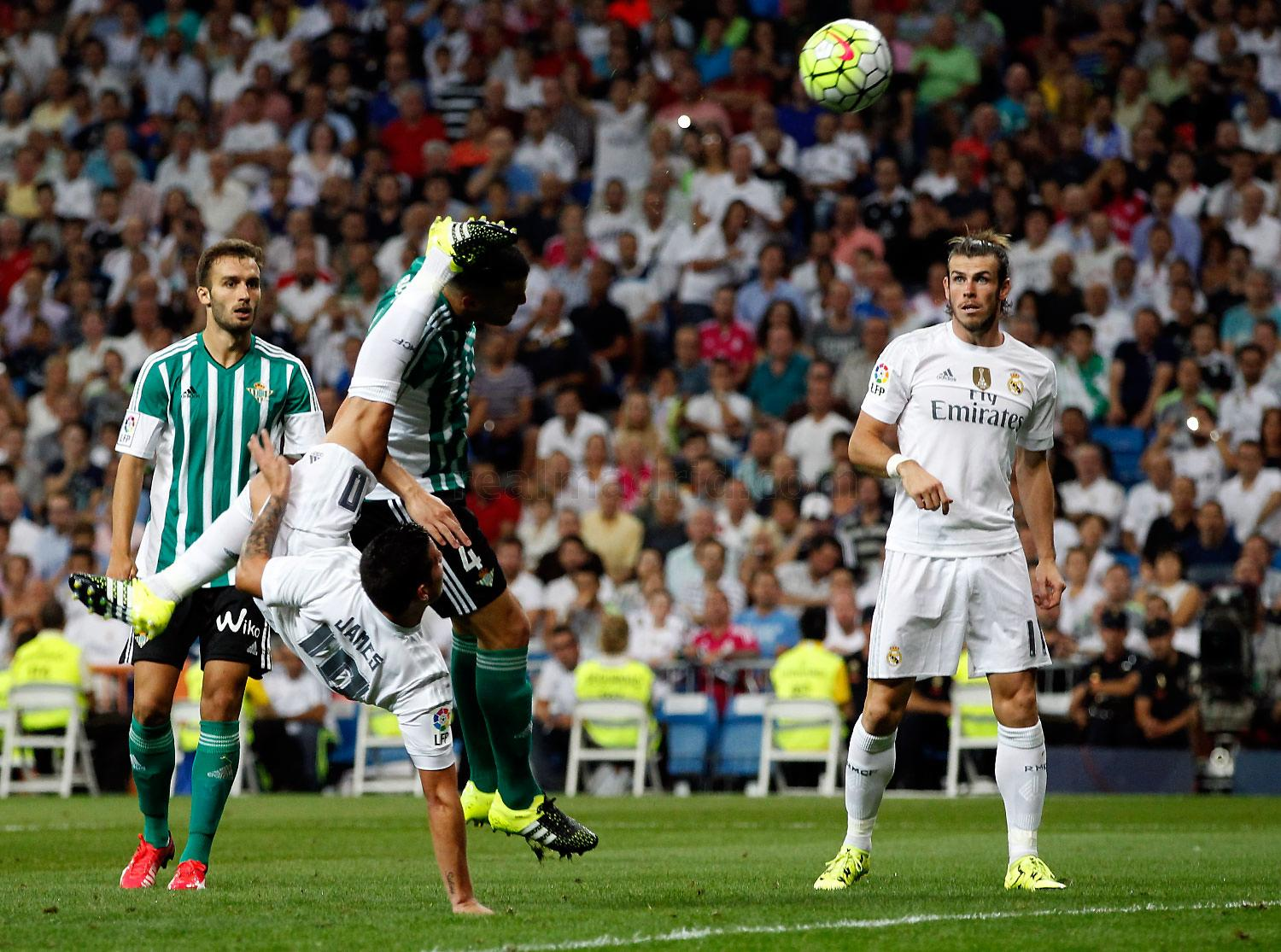 Real Madrid - Real Madrid - Real Betis - 30-08-2015