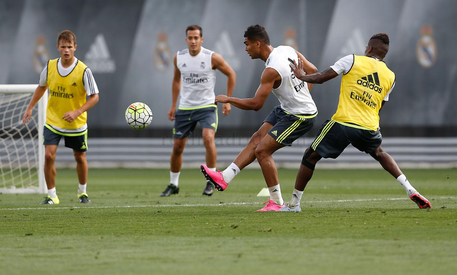 Real Madrid - Entrenamiento del Real Madrid - 31-08-2015