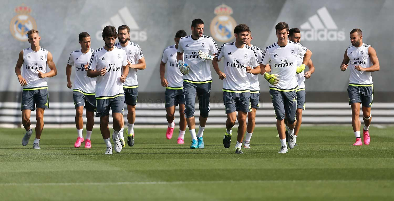 Real Madrid - Entrenamiento del Real Madrid - 01-09-2015