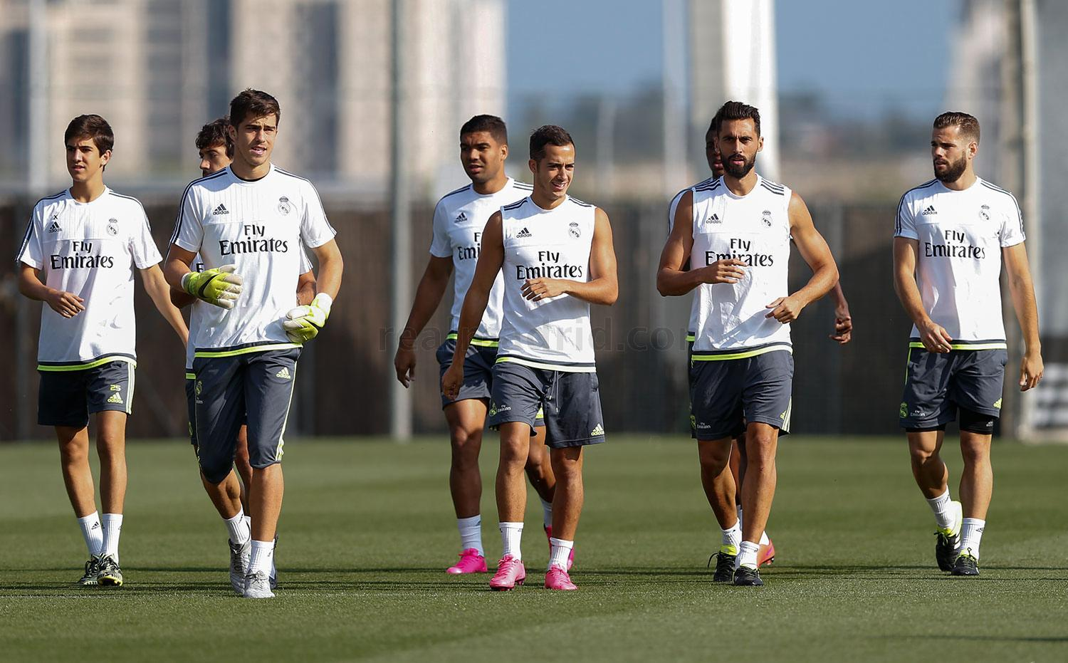 Real Madrid - Entrenamiento del Real Madrid - 04-09-2015