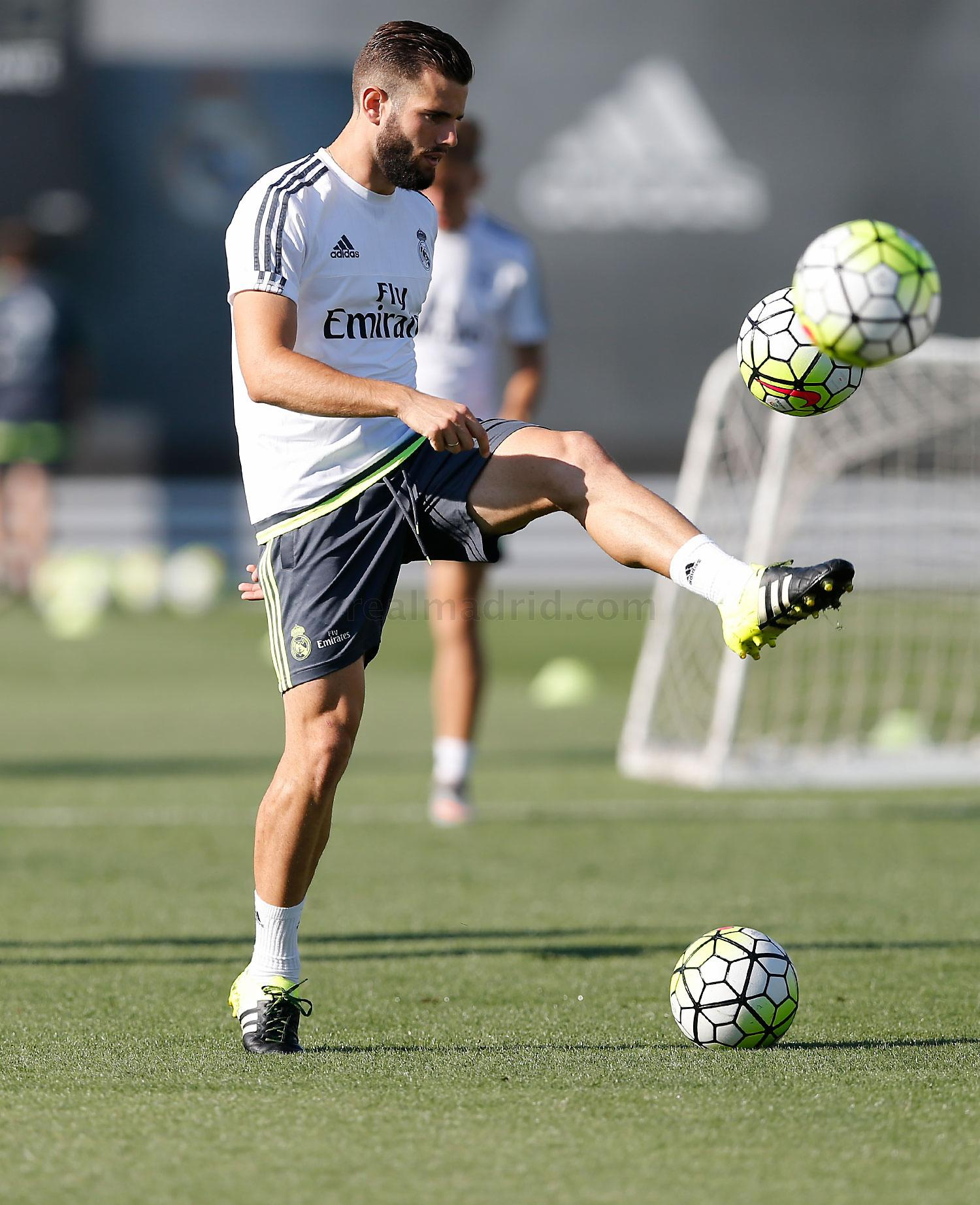 Real Madrid - Entrenamiento del Real Madrid - 08-09-2015