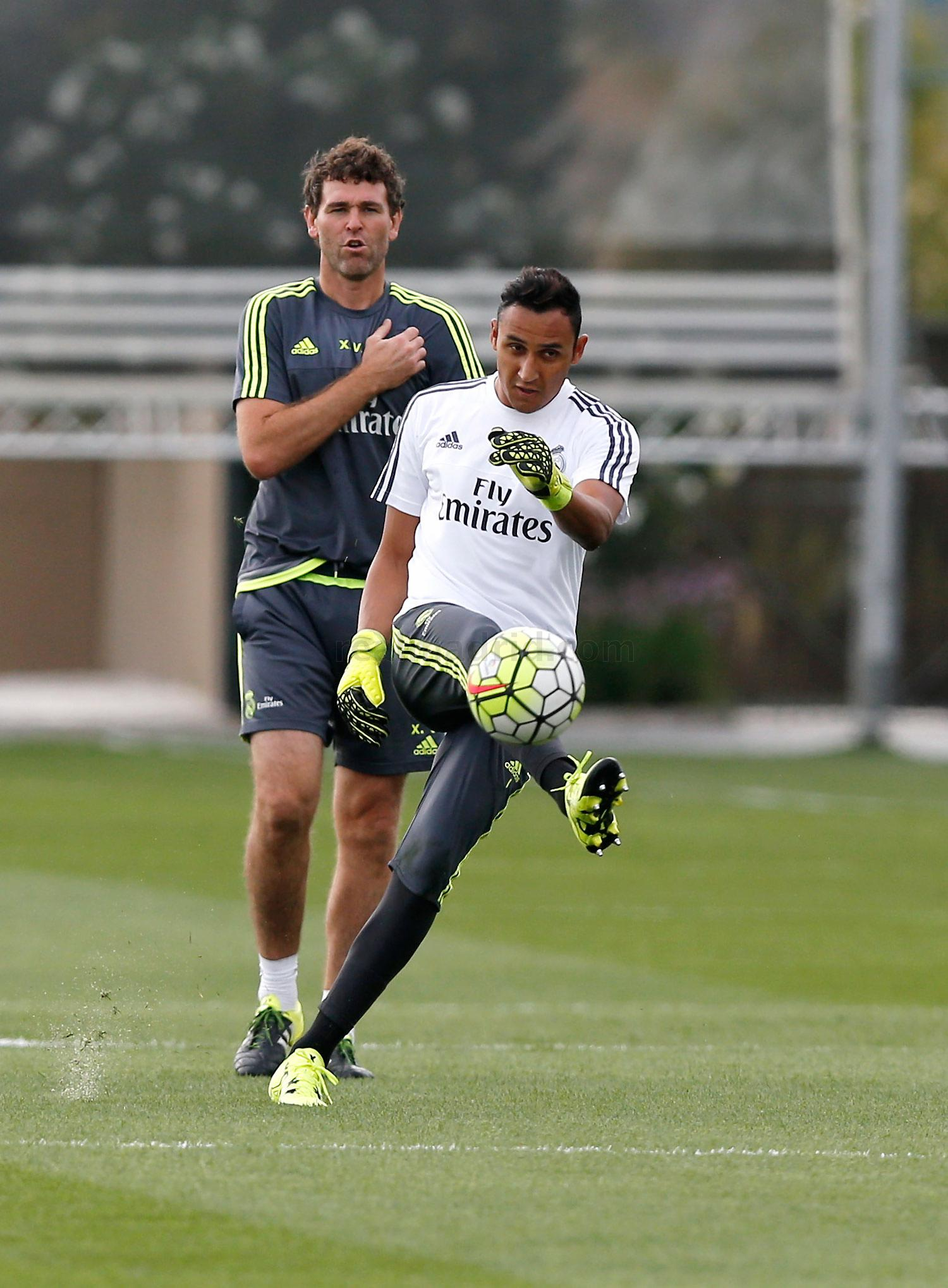 Real Madrid - Entrenamiento del Real Madrid - 09-09-2015