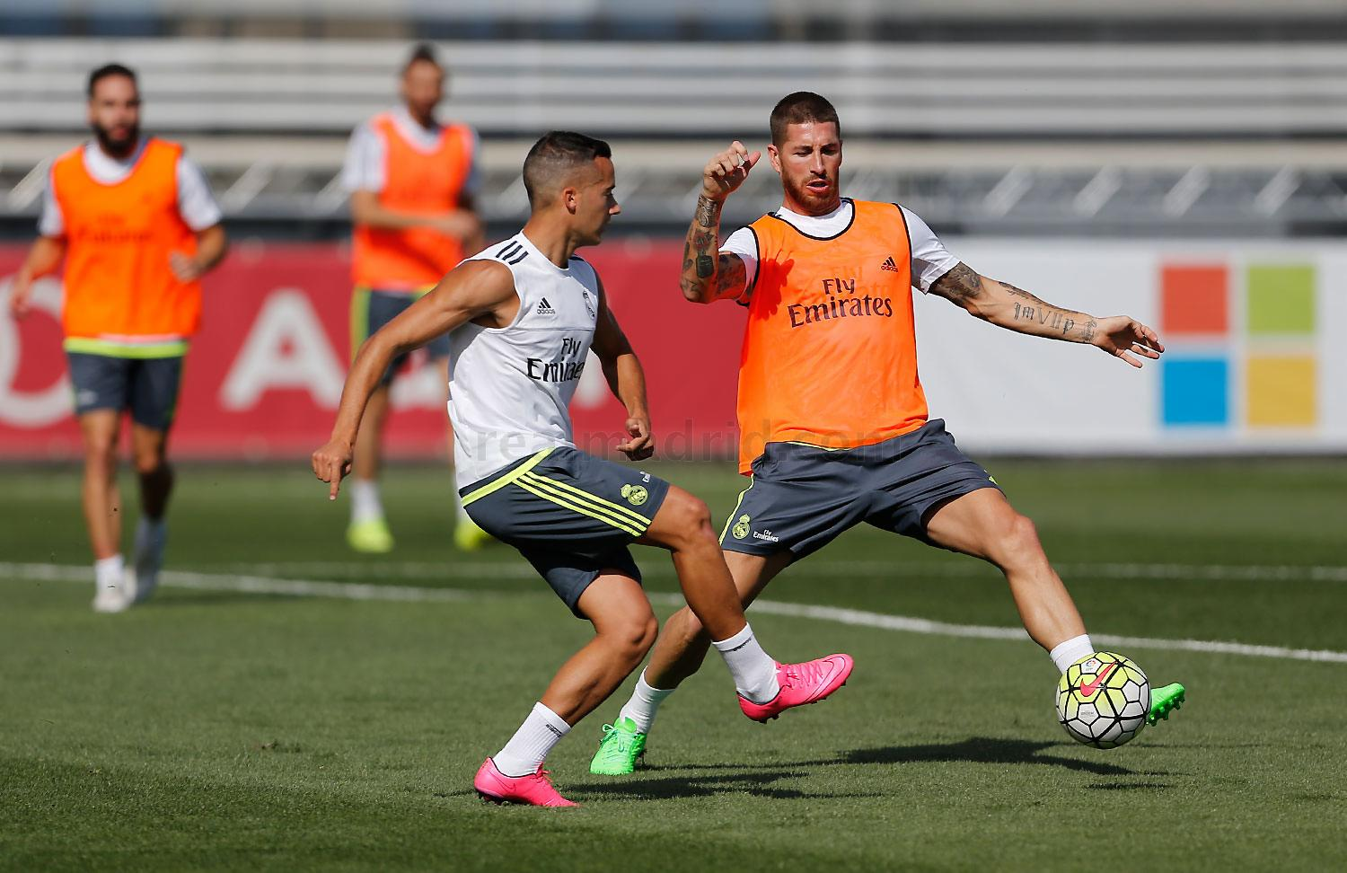Real Madrid - Entrenamiento del Real Madrid - 10-09-2015