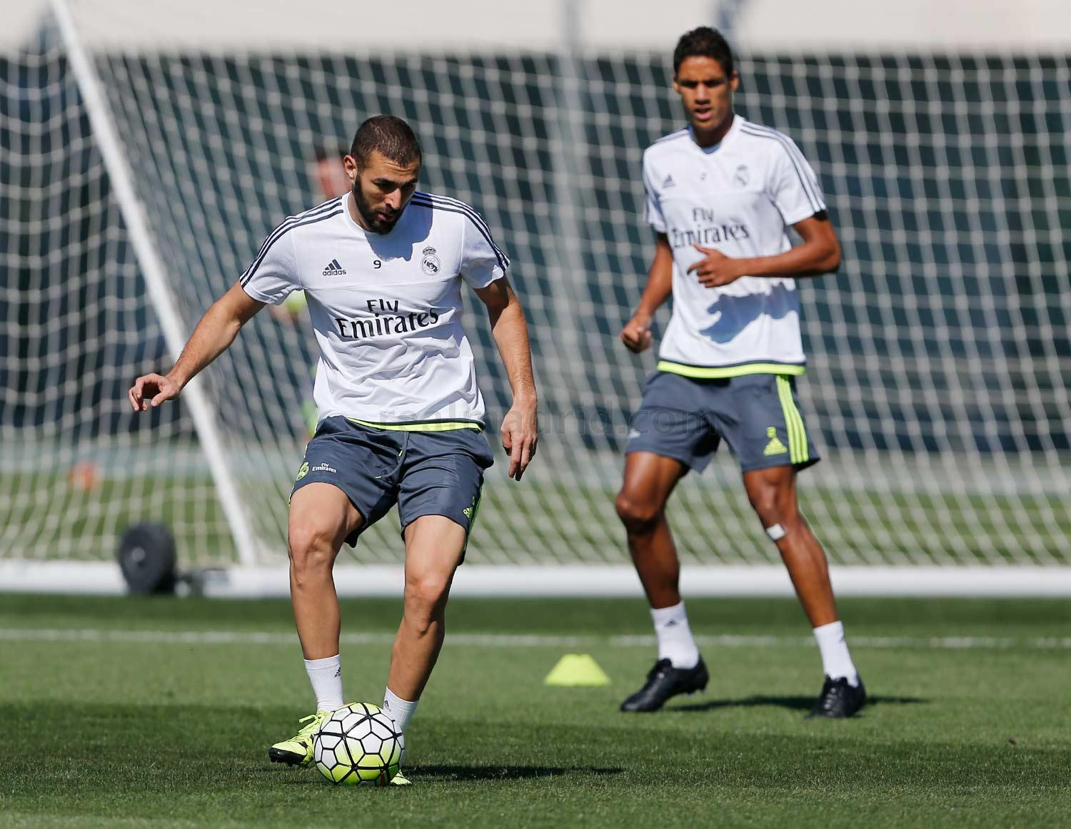 Real Madrid - Entrenamiento del Real Madrid - 11-09-2015
