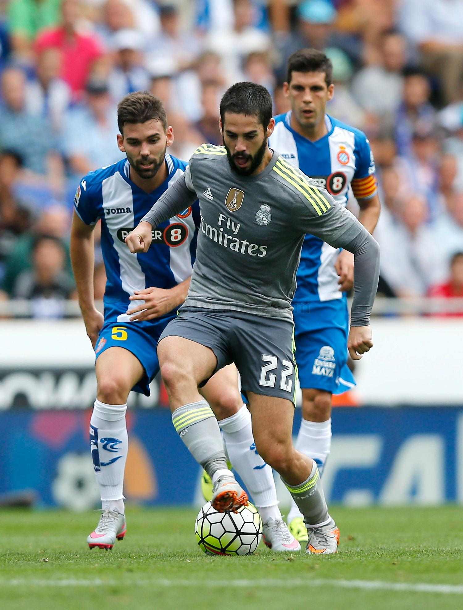 Real Madrid - Espanyol - Real Madrid - 12-09-2015