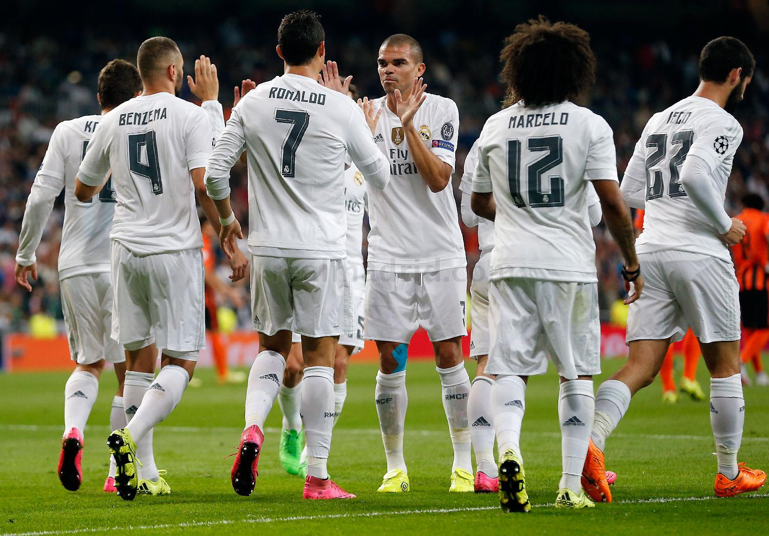 Real Madrid - Real Madrid - Shakhtar Donetsk - 15-09-2015
