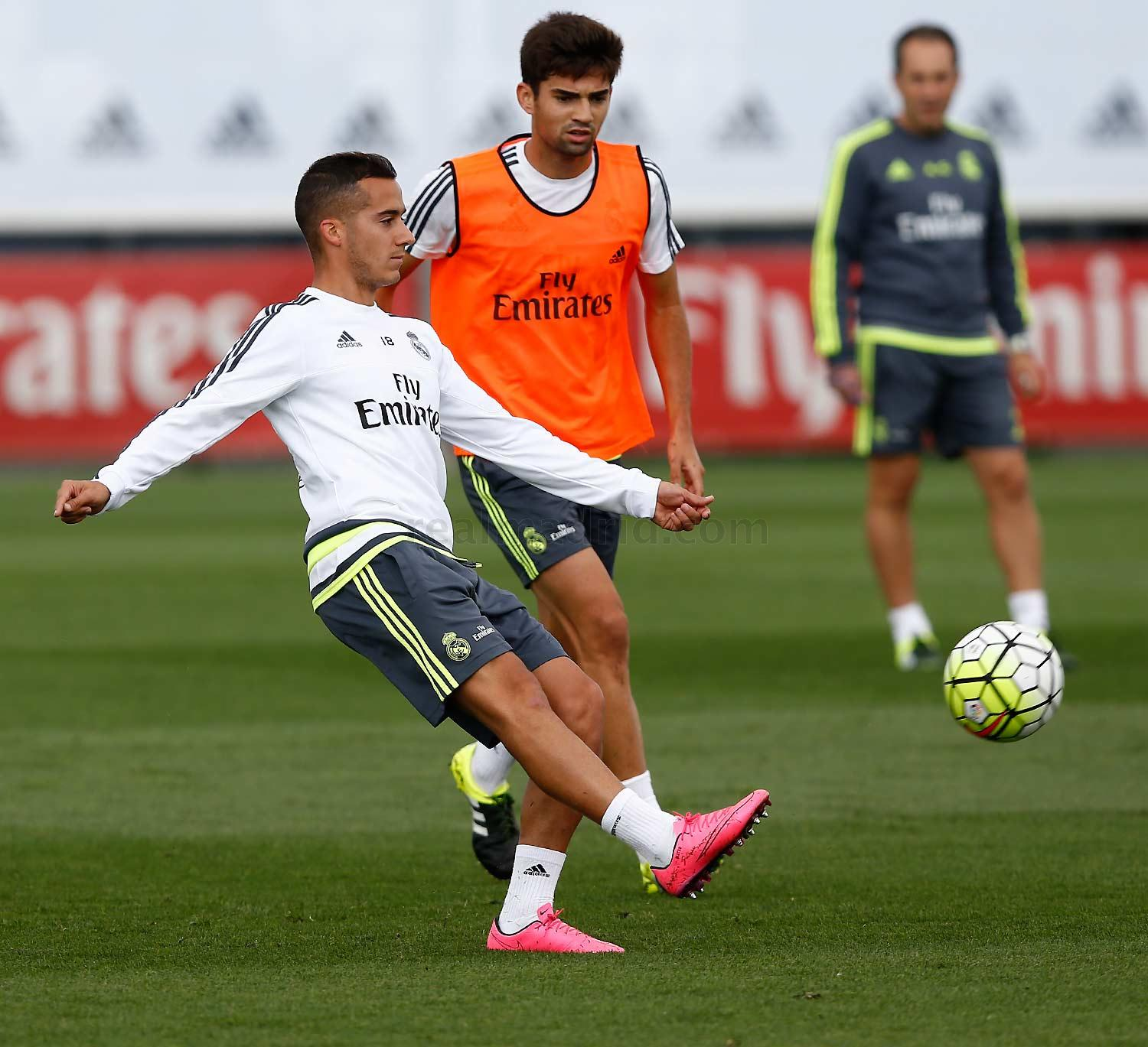 Real Madrid - Entrenamiento del Real Madrid - 16-09-2015