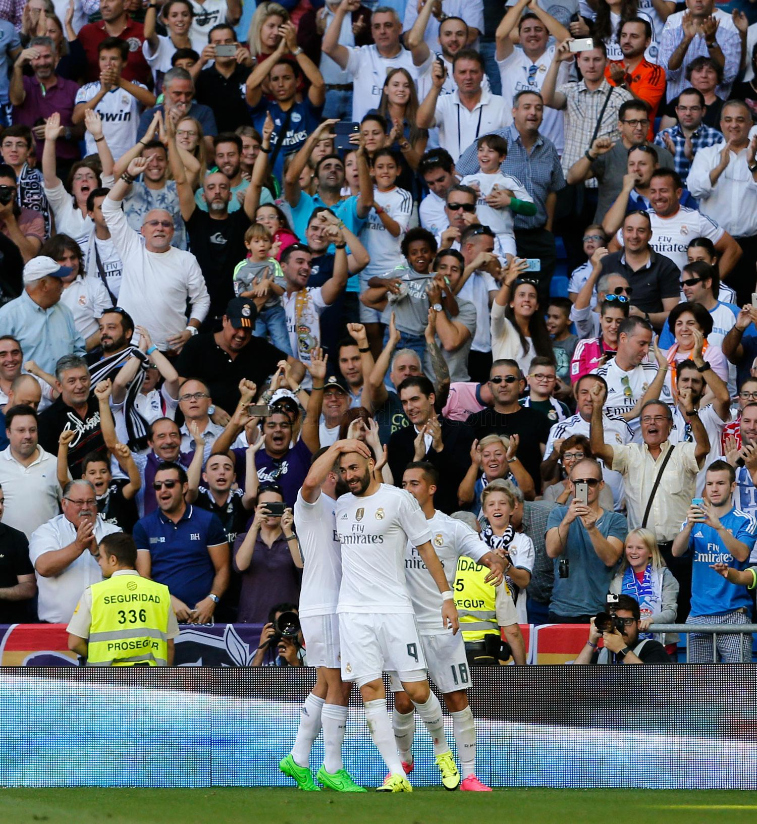 Real Madrid - Real Madrid - Granada - 19-09-2015