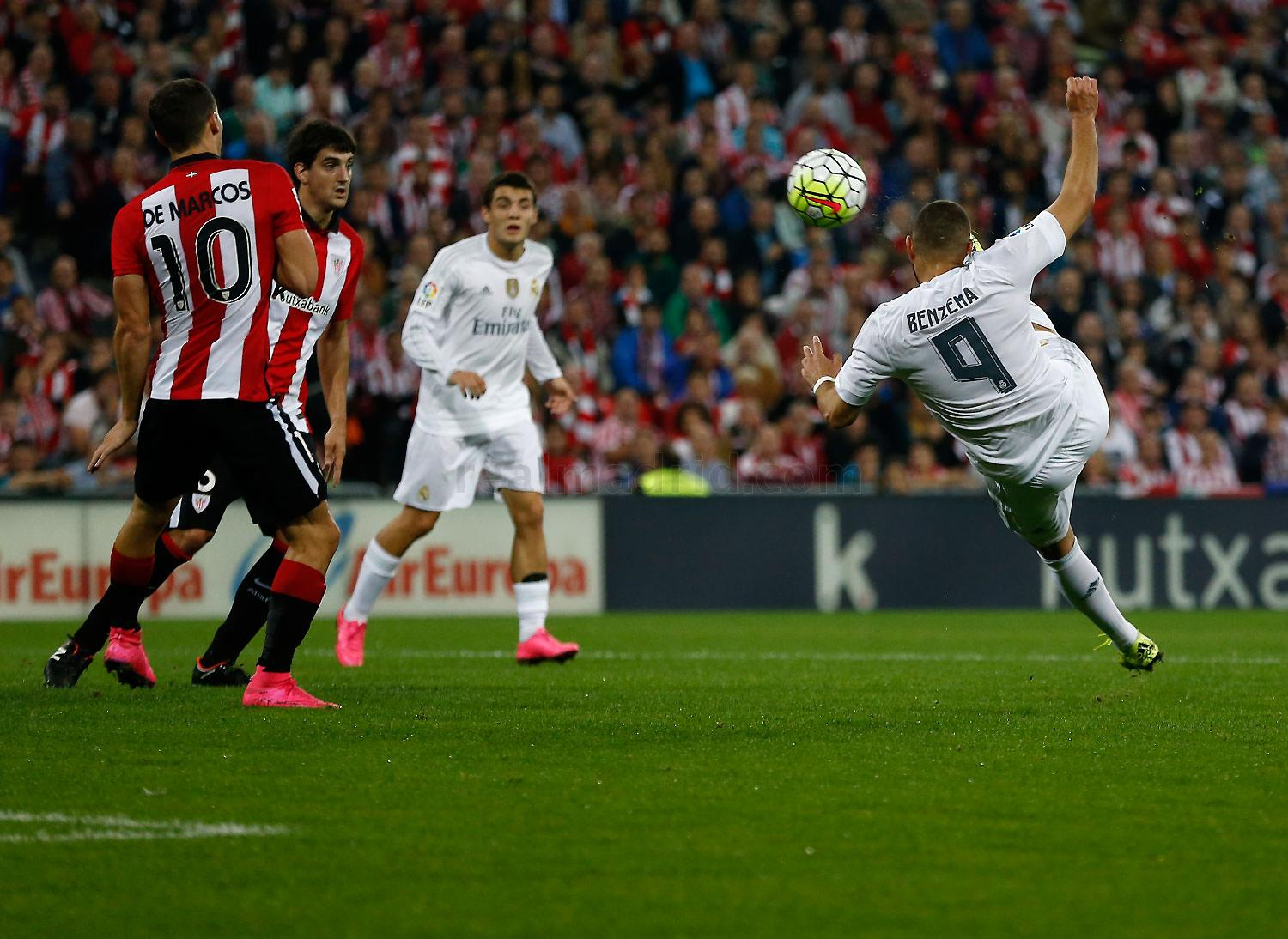 Real Madrid - Athletic Club - Real Madrid - 23-09-2015