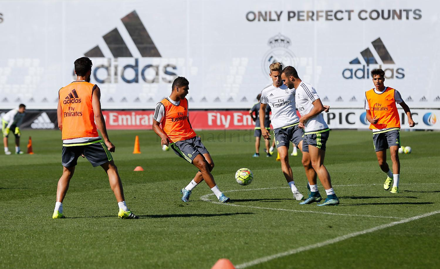 Real Madrid - Entrenamiento del Real Madrid - 24-09-2015