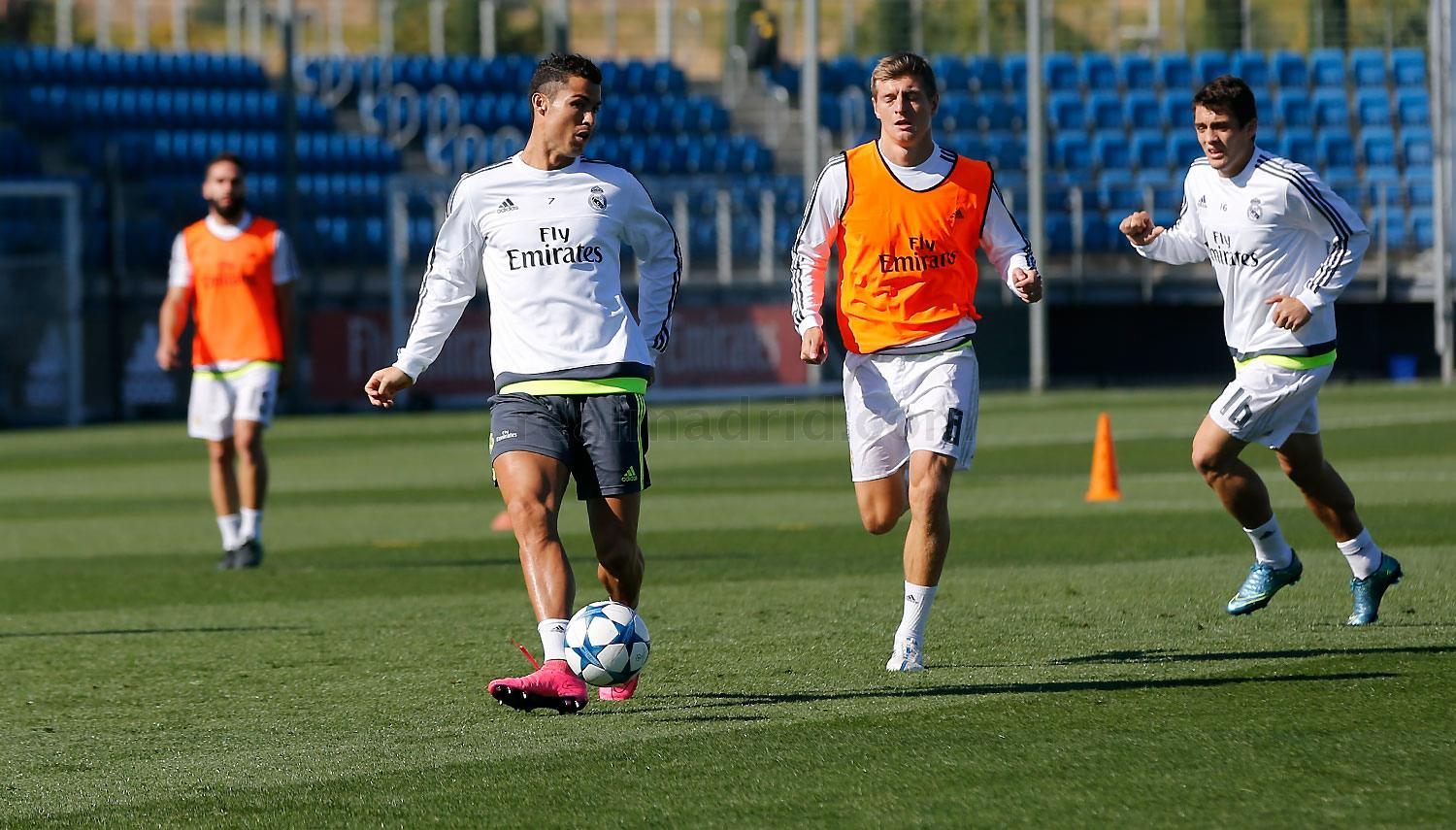 Real Madrid - Entrenamiento del Real Madrid - 28-09-2015