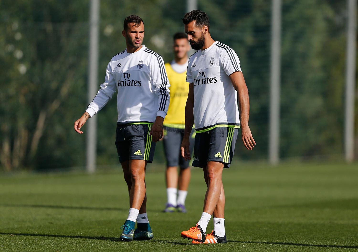 Real Madrid - Entrenamiento del Real Madrid - 07-10-2015