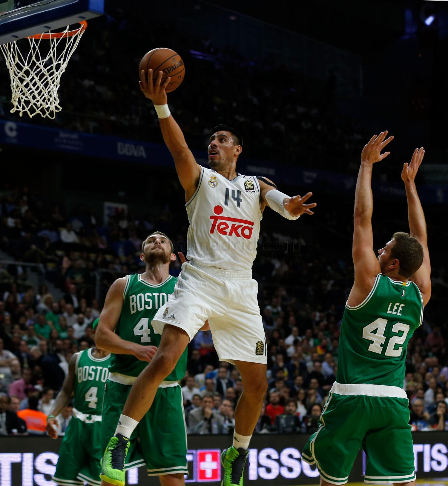 Real Madrid - Real Madrid - Boston Celtics - 08-10-2015