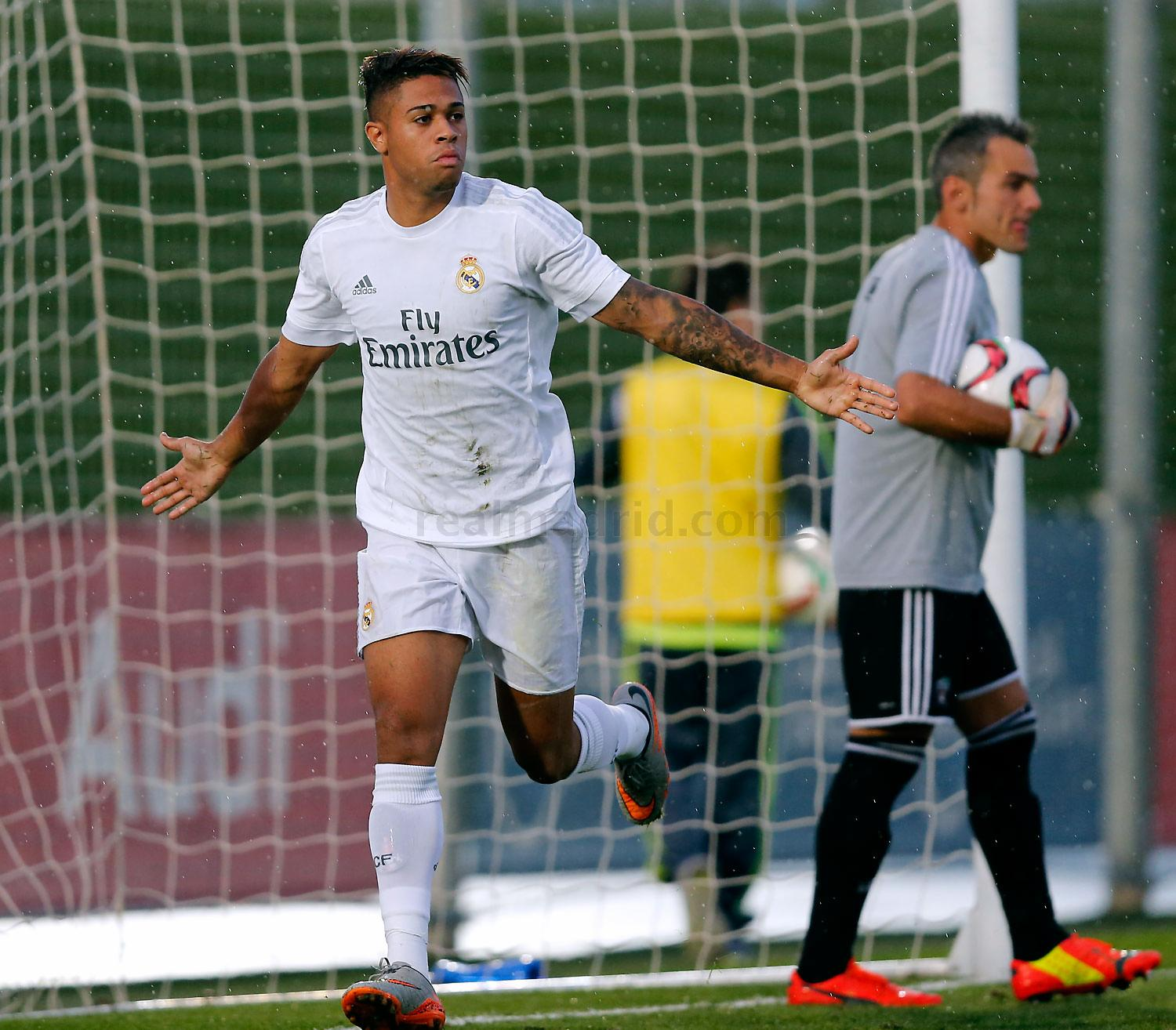 Real Madrid - Real Madrid Castilla - Arenas Club - 10-10-2015