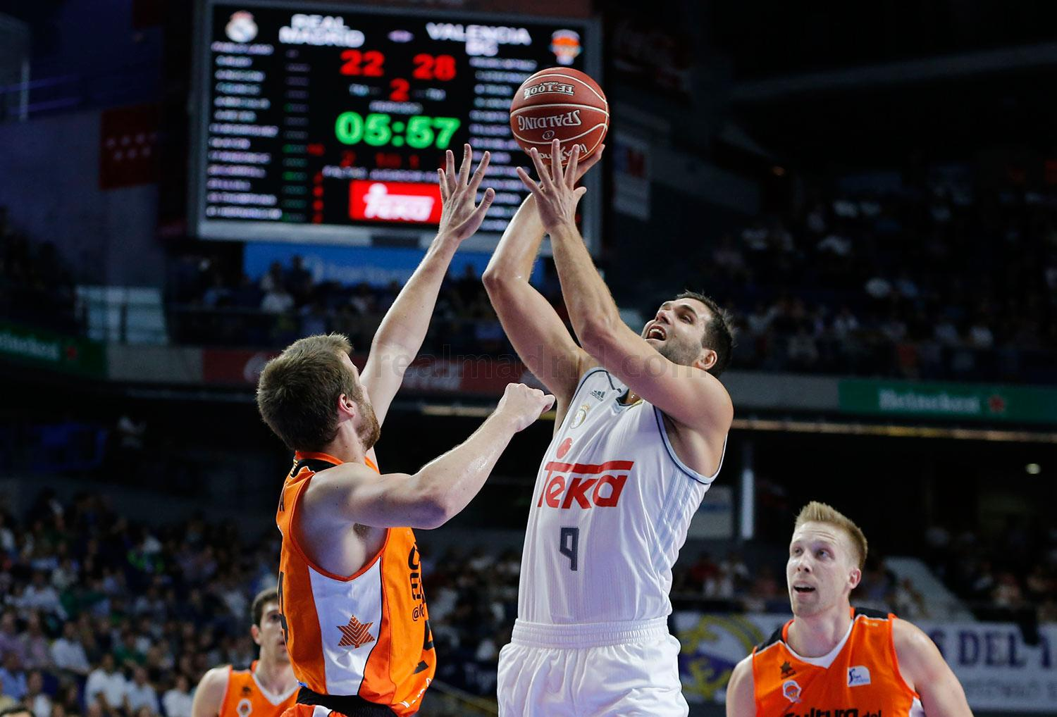 Real Madrid - Real Madrid - Valencia Basket - 11-10-2015