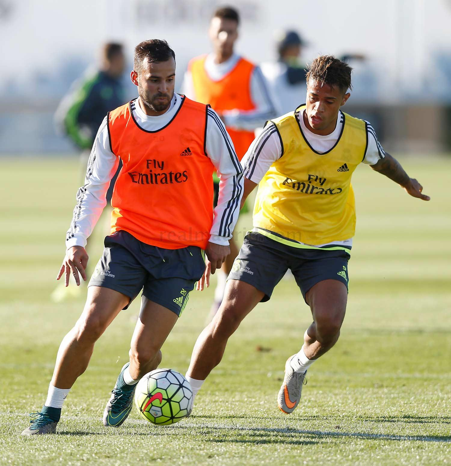 Real Madrid - Entrenamiento del Real Madrid - 13-10-2015