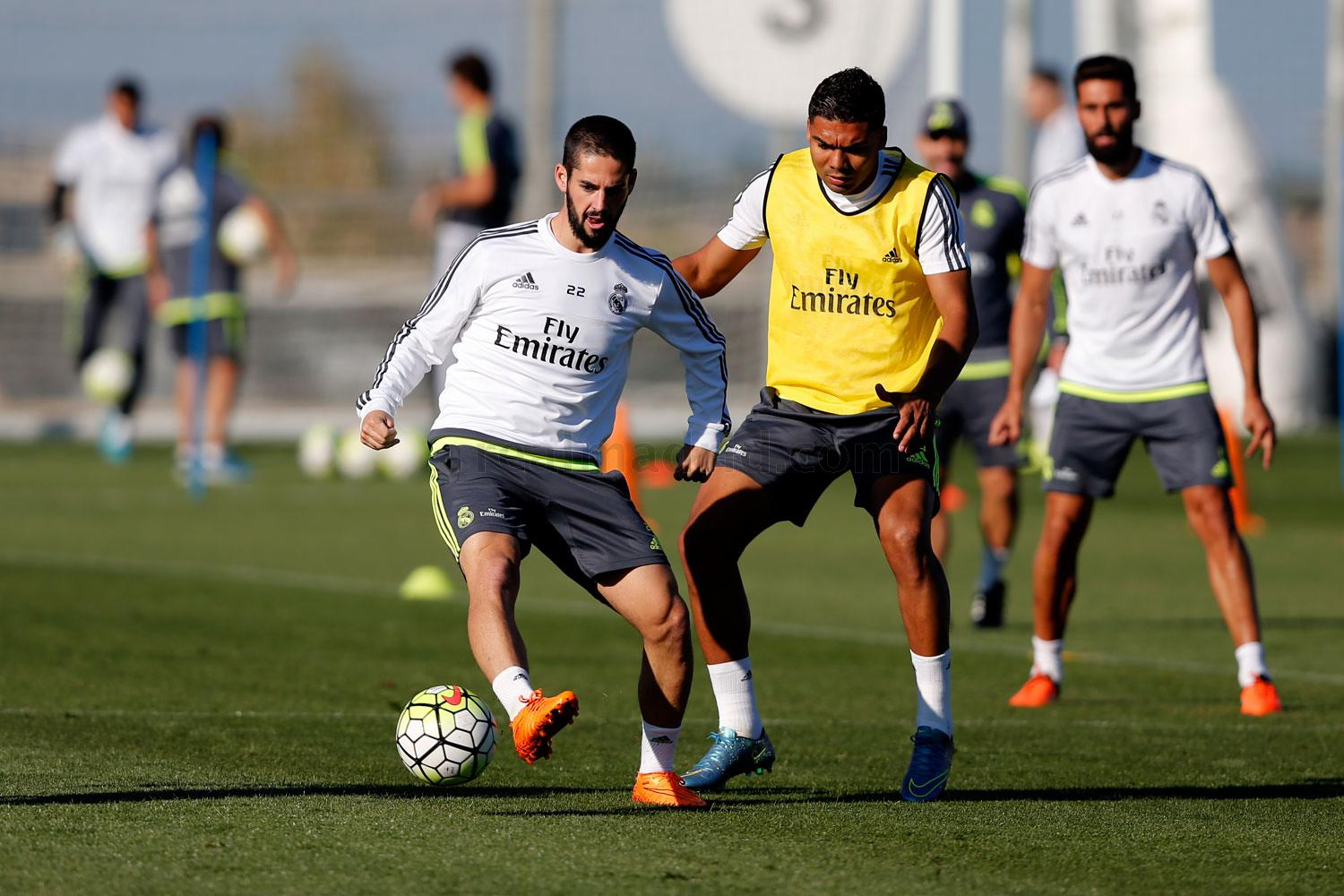 Real Madrid - Entrenamiento del Real Madrid - 14-10-2015