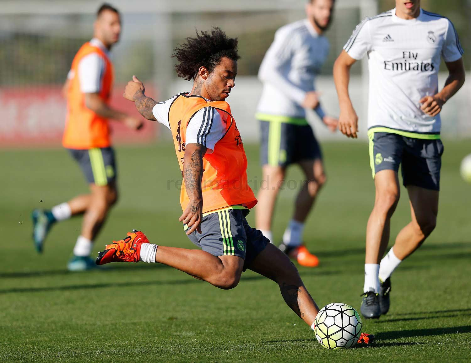 Real Madrid - Entrenamiento del Real Madrid - 15-10-2015