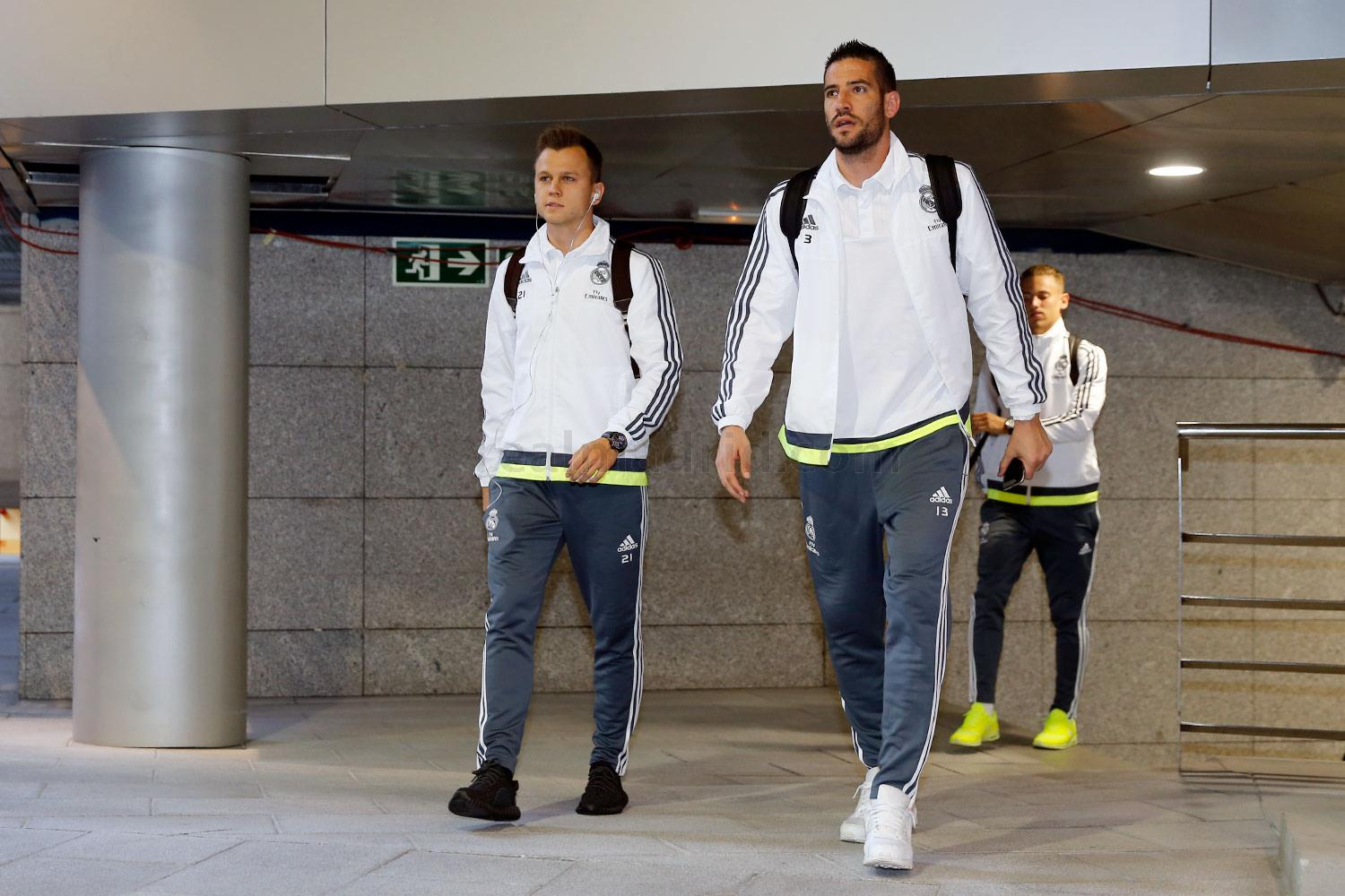 Real Madrid - Llegada al estadio - 17-10-2015