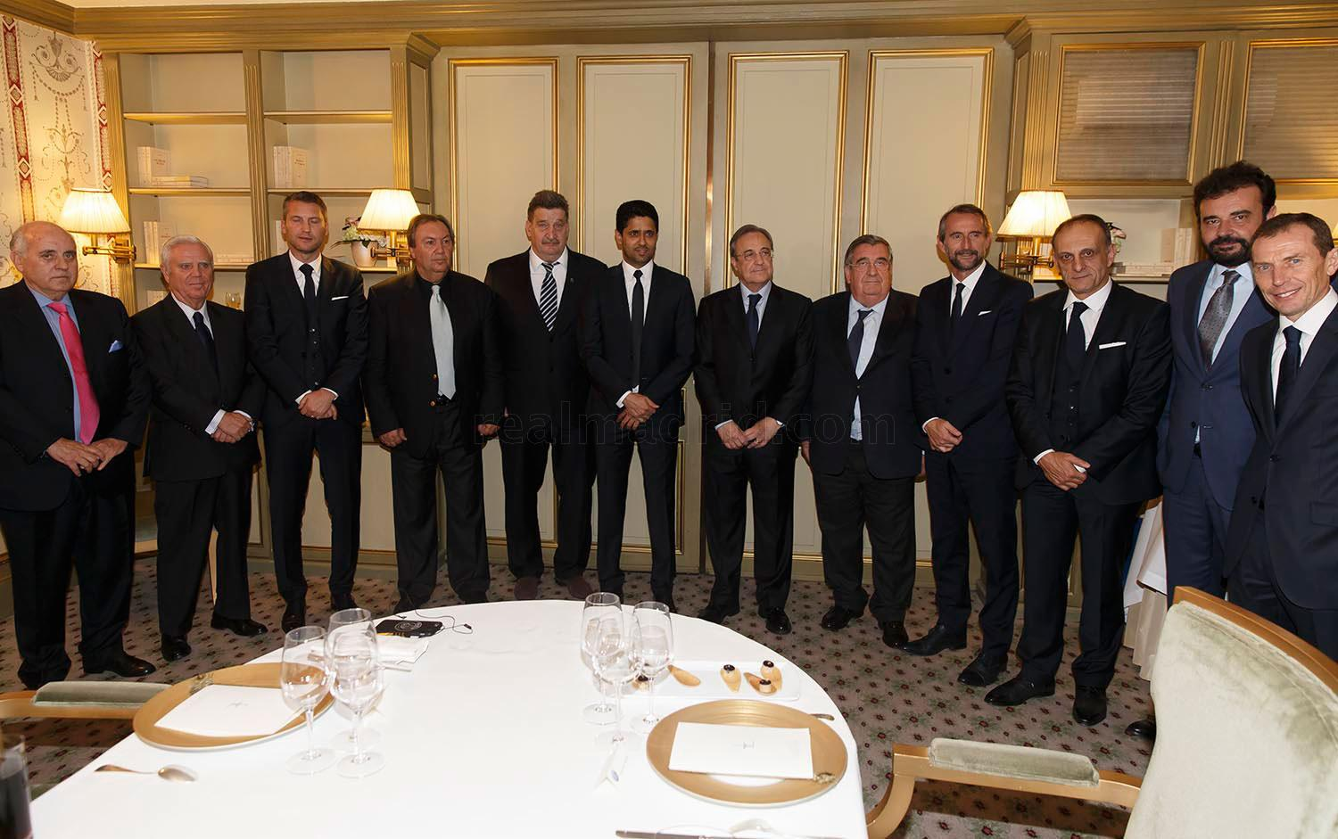 Real Madrid - Cena de directivas - 20-10-2015