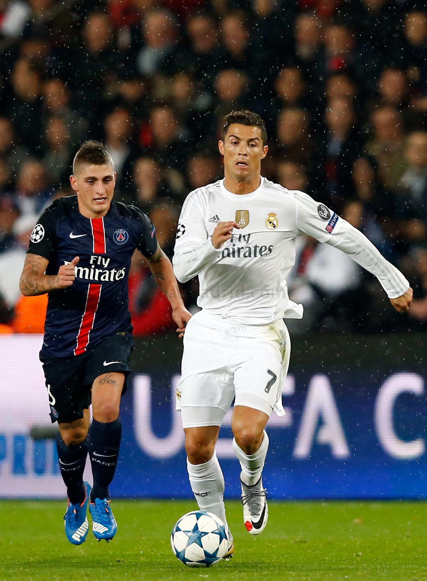Real Madrid - Paris Saint-Germain - Real Madrid - 21-10-2015