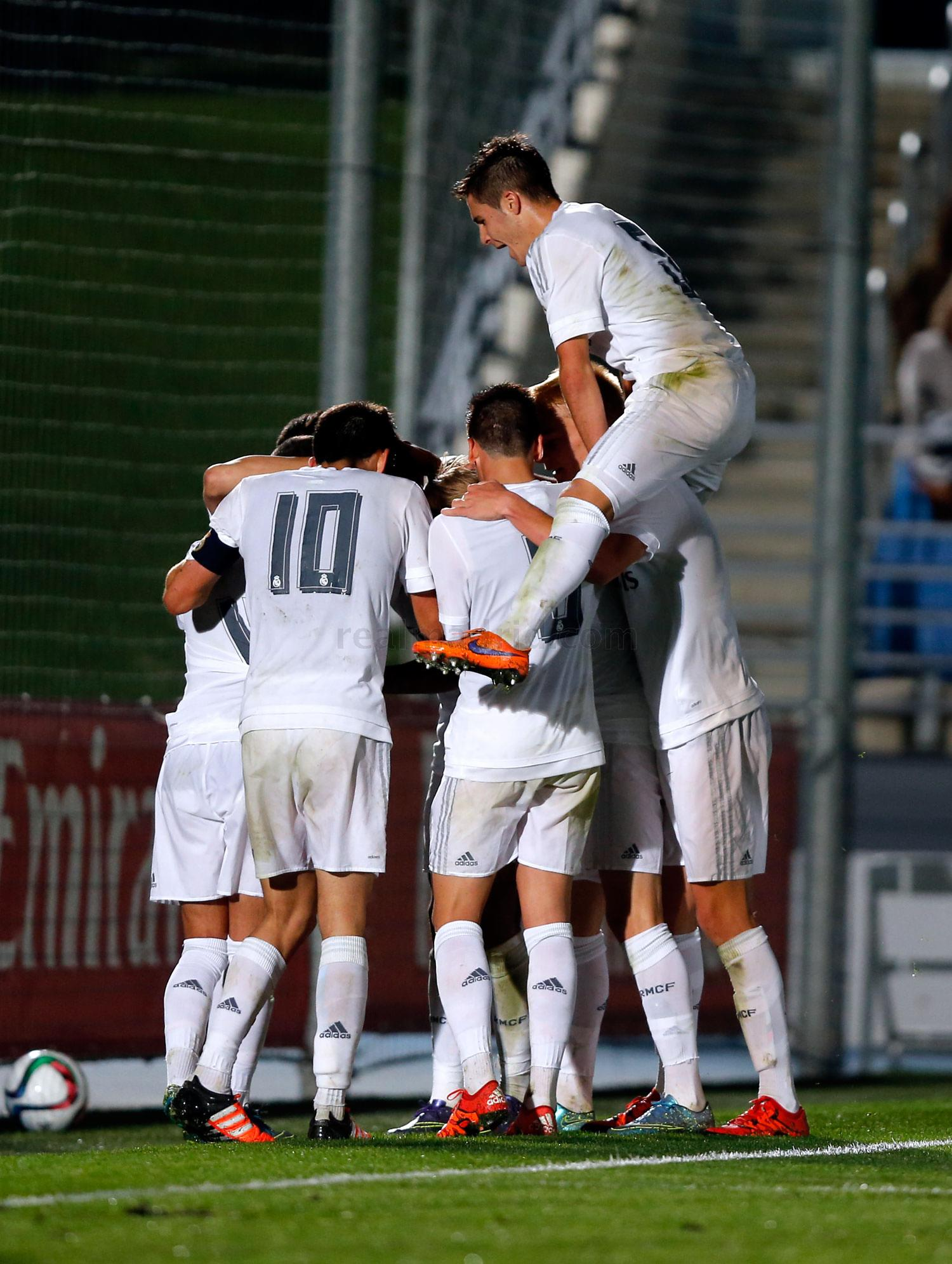 Real Madrid - Real Madrid Castilla - Socuéllamos - 24-10-2015