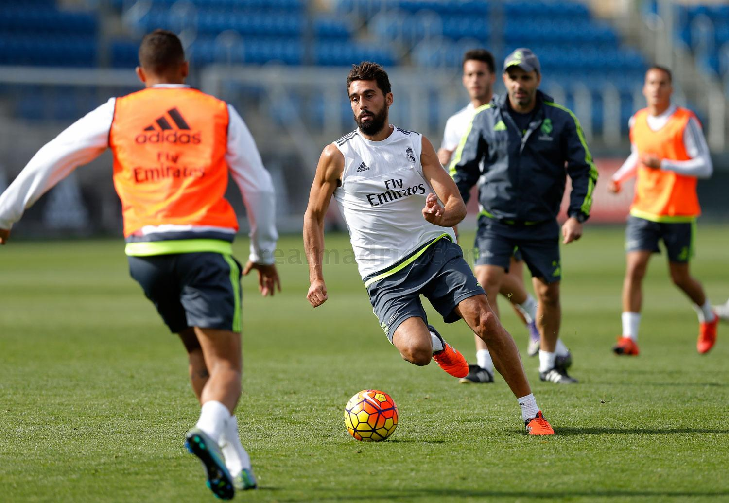 Real Madrid - Entrenamiento del Real Madrid - 28-10-2015