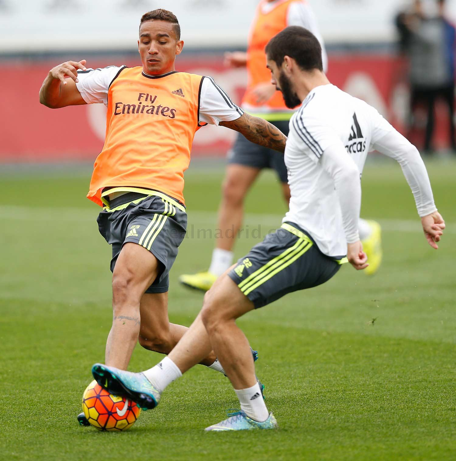 Real Madrid - Entrenamiento del Real Madrid - 29-10-2015