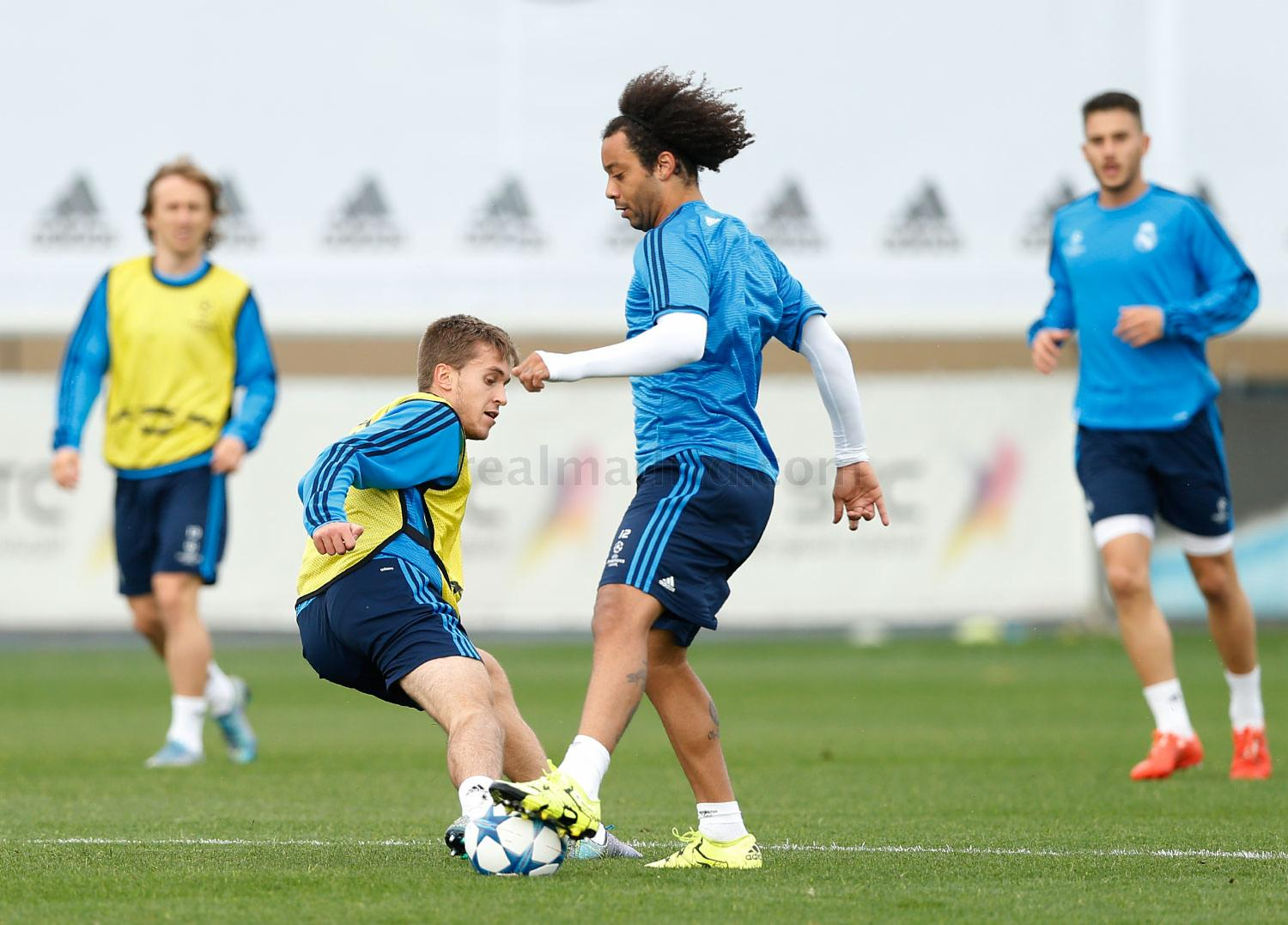 Real Madrid - Entrenamiento del Real Madrid - 02-11-2015