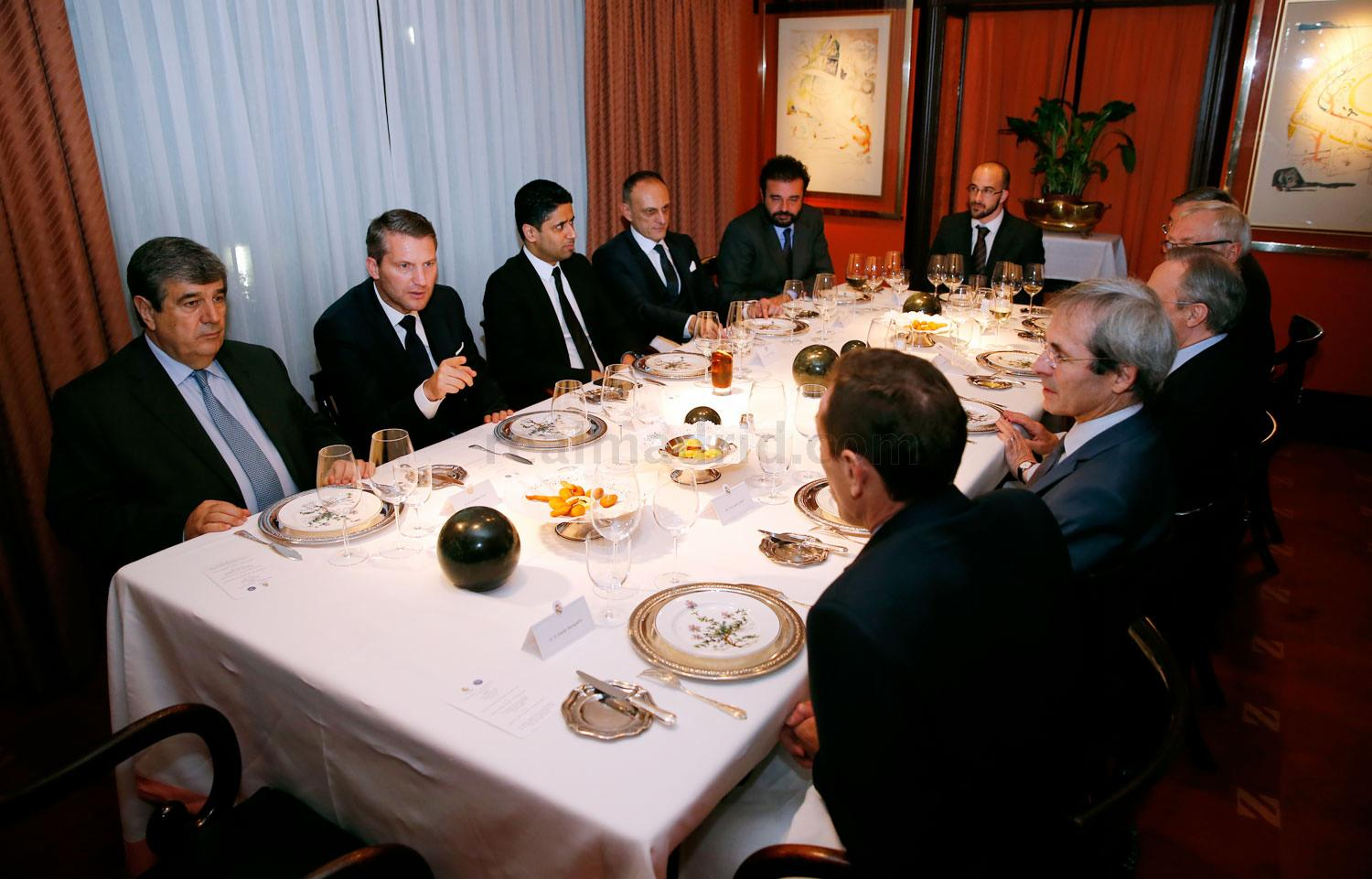 Real Madrid - Cena de directivas - 02-11-2015