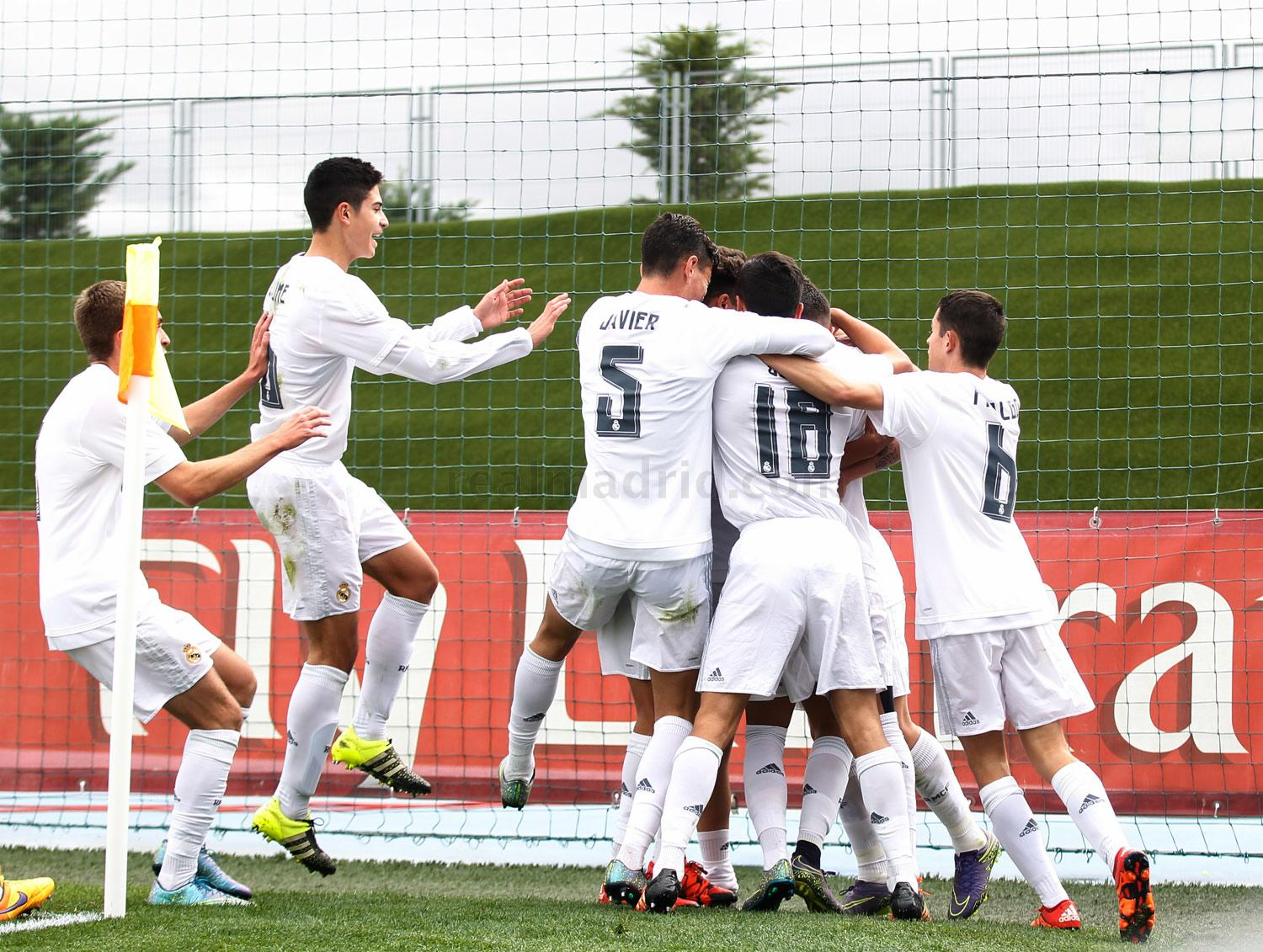 Real Madrid - Juvenil A - PSG - 03-11-2015
