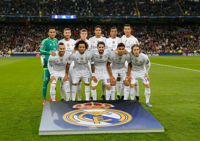 Real Madrid - Paris Saint-Germain Photos Real Madrid CF