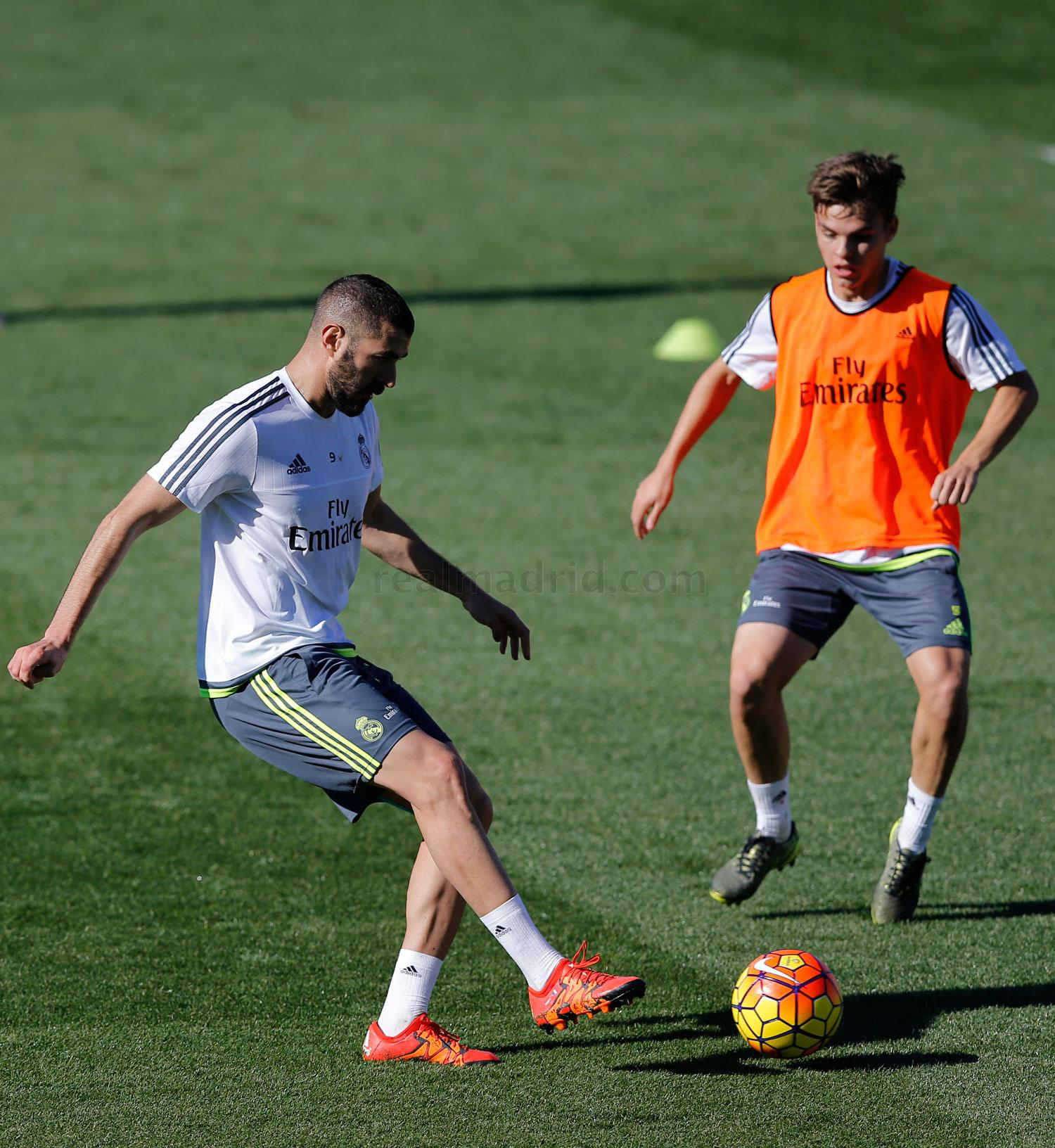 Real Madrid - Entrenamiento del Real Madrid - 10-11-2015