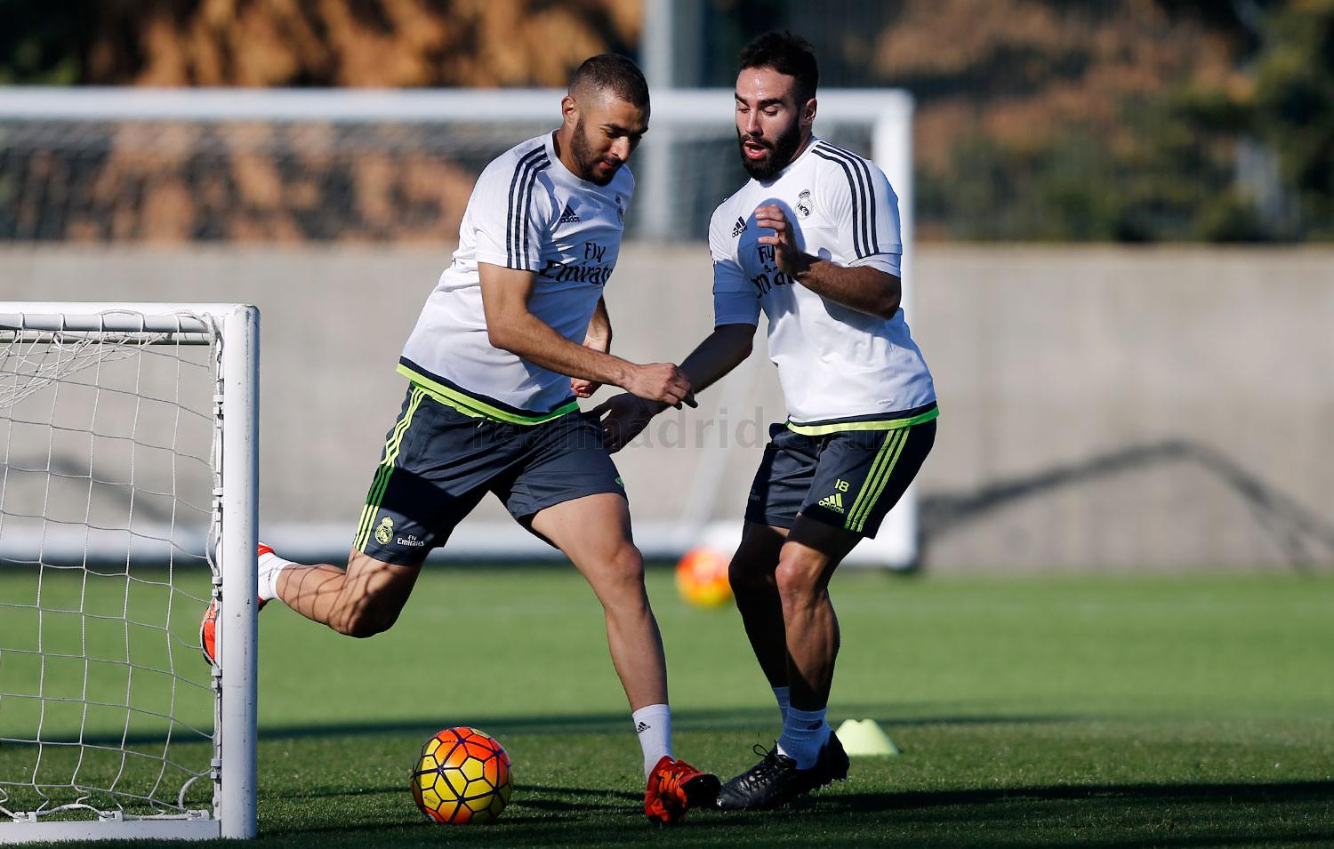 Real Madrid - Entrenamiento del Real Madrid - 13-11-2015