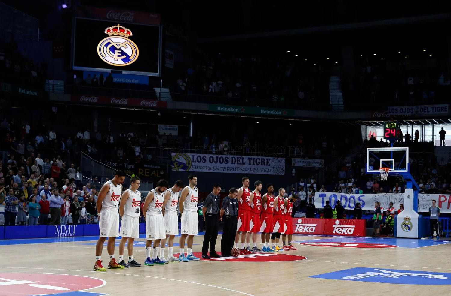 Real Madrid - Real Madrid - ICL Manresa - 15-11-2015